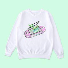 Vaporwave-tumblr-aesthetic PSP jumper