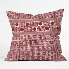 Belle13 Traditional Deco Floral Outdoor Throw Pillow | DENY Designs Home Accessories