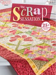 Create sensational quilts out of everyday scraps with this handy collection of gorgeous patterns!