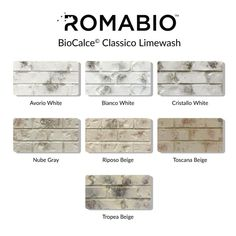 Bring an old-world European look to your home with Tropea Beige Limewash Interior/Exterior Paint by Romabio Classico. This interior/exterior slaked-lime paint is specially designed to produce unique white House Paint Exterior, Exterior Paint Colors, Exterior House Colors, Interior Exterior, White Wash Brick Exterior, Stained Brick Exterior, Building Exterior, Interior Trim, Beige House Exterior