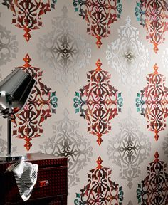 Livingwalls Tapete 956141, Barocke Tapete von A.S. Création #Barock-Ornament #Tapetenshop #BarockTapete