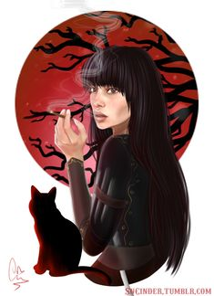 "Mia Corvere from Jay Kristoff's Nevernight  ""A girl some call Pale Daughter. Or Kingmaker. Or Crow."""
