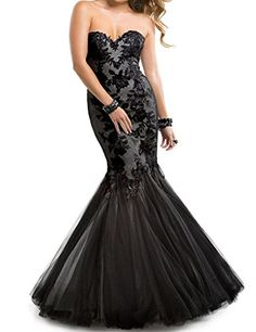 ASA Chiffon Long Evening Dresses Mermiaid Lace Formal Gown Black US 2 ASA http://www.amazon.com/dp/B00Q9TVREO/ref=cm_sw_r_pi_dp_8sjkvb0PGB2Y2