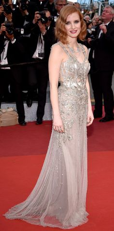 The Best Looks from the 2016 Cannes Film Festival Red Carpet - Jessica Chastain - from InStyle.com