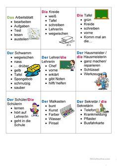 German Grammar, German Language Learning, Learn German, Teaching Resources, Worksheets, Germany, Education, Languages, Artist