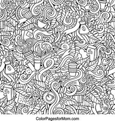 Doodles 15 Coloring page