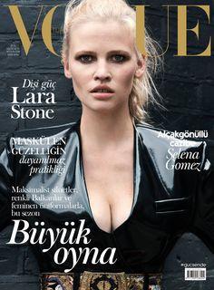 Lara Stone by Liz Collins for Vogue Turkey October 2016