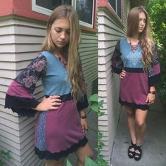 Eco Tunic Dress size S/MEco Clothing boho tunichippie von zasra