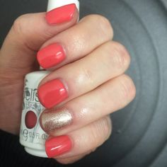 Gelish - watch your step sister! Part of the Cinderella collection at magenta nails