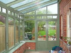 lean to Garden room Sun Lounge (Lean To) Conservatories Lean To Conservatory, House Extensions, Garden Room, Sunroom Designs, Sun Lounge, Pergola Plans, Small Conservatory, Pergola Attached To House, Conservatory Design