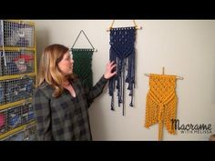 getlinkyoutube.com-Macrame Tutorial: How to Craft a Wall Hanging for Beginners