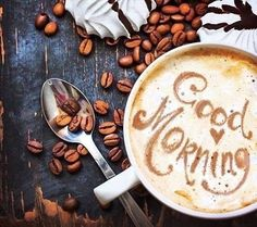 Morning Coffee . . .