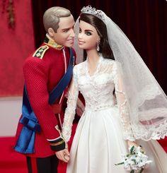 Barbie Collector Mattel - Casamento Real William E Kate - R$ 450,00 no MercadoLivre