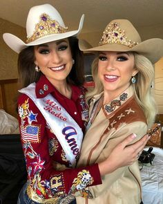 You've probably seen them during the National Anthem at your hometown rodeo, or attending events during the National Finals Rodeo, but rodeo queens do a lot more than wear the crown. Cowgirl Shirts, Cowboy And Cowgirl, Cowgirl Style, Queen Outfit, Queen Dress, Southern Girls, Country Girls, Rodeo Hair, Rodeo Queen Clothes