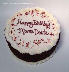 Mama Davis Red Velvet Cake. April 2014.