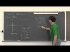 Complex Numbers in Polar Form
