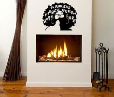 24 in Flawless Wall Decal Natural Hair by NewTribeNewTradition, $50.00