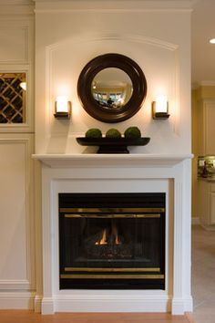 Fireplace Decorating Design, Pictures, Remodel, Decor and Ideas