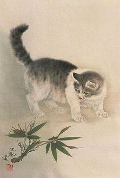 Cat, by Wang Shenyong 王申勇 (1971~)