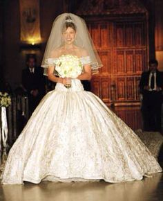 Precio del vestido de boda de thalia