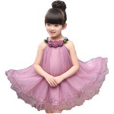 $19.60 (Buy here: https://alitems.com/g/1e8d114494ebda23ff8b16525dc3e8/?i=5&ulp=https%3A%2F%2Fwww.aliexpress.com%2Fitem%2F2016-new-fashion-girl-dress-hanging-child-neck-dress-in-summer-flower-children-dress-girl-dress%2F32680988611.html ) 2016 new fashion girl dress hanging child neck dress in summer flower children dress girl dress for just $19.60