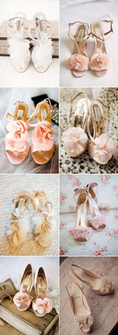 Ruffles wedding / bridal shoes to choose from