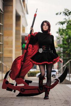 Fantastic Ruby cosplay by Twiliheart : RWBY Rwby Cosplay, Epic Cosplay, Cute Cosplay, Amazing Cosplay, Halloween Cosplay, Cosplay Outfits, Cosplay Girls, Cosplay Costumes, Anime Cosplay