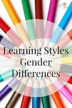 Learning Styles, Gender Differences
