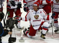 Alex Ovechkin and Team Russia Win Channel One Cup