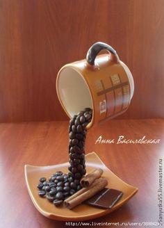 darek pro babču levitující káva