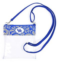 Kentucky Wildcats Clear Gameday Crossbody Bag Sports Team... https://www.amazon.com/dp/B01LYUBAIT/ref=cm_sw_r_pi_dp_x_QGr-xbJA7JSSE
