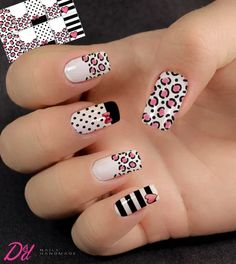 The 90 Vigorous Early Spring Nails Art Designs are so perfect for this Season Hope they can inspire you and read the article to get the gallery. Spring Nail Art, Spring Nails, Cat Nail Designs, Disney Acrylic Nails, Tiger Nails, Nails Only, Fabulous Nails, Creative Nails, Nail Manicure
