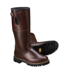 Just found this Mens Tall Leather Boots - Oiled Leather and Shearling Boot -- Orvis on Orvis.com!