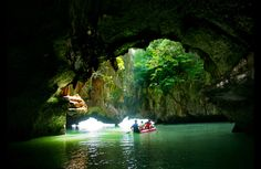 Sea Cave canoeing in Phuket - 10 Things to do in Phuket, Thailand