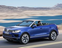 """Check out new work on my @Behance portfolio: """"Volkswagen Touareg Convertible"""" http://be.net/gallery/45088033/Volkswagen-Touareg-Convertible"""