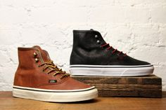 "DQM for Vans ""Hiker Authentic Hi"" for Women."