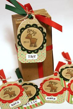2010 Holiday Tags - Heather Nichols  Darling Idea