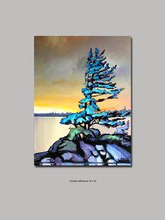 Landscape Artwork, Abstract Landscape, Abstract Art, Canadian Art, Pastel Art, Artist Art, Painting Inspiration, Watercolor Paintings, Watercolour