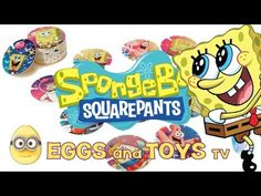 SpongeBob Square Pants Orbeez Chips Tokens collection 3 - Eggs and Toys TV