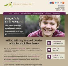 #sesamewebdesign #sds #dental #columbia #purple #brown