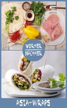 http://eatsmarter.de/rezepte/asia-wraps Diese leckeren Wraps sind der perfekte Snack oder ein leichtes Hauptgericht.