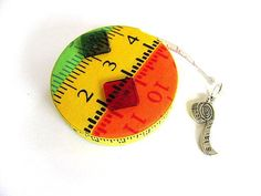 Retractable Tape Measure Bright Colors Sewers Tape Measure