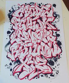 Graffiti Art Drawings, Graffiti Alphabet Styles, Graffiti Lettering Alphabet, Graffiti Piece, Graffiti Words, Graffiti Tattoo, Graffiti Writing, Best Graffiti, Tattoo Lettering Fonts