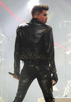 Adam Lambert performing with Queen. (This photo was uploaded by purplegirll.)