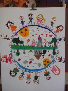 Της Τάξης και της Πράξης: Mε αφορμή το Πολυτεχνείο.... Diy Crafts For School, School Projects, Projects To Try, Class Decoration, November 17, Earth Day, Smiley, Art For Kids, Preschool