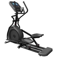 The 4CT Cross Trainer from Star Trac is a light institutional rated crosstrainer with front drive elliptical motion and upper body handles working in tandem with pedals for total-body cardiovascular exercise. With 40 levels of resistance and a 20 inch stride length, the 4CT Crosstrainer provides an efficient full body workout. The sturdy steel frame supports users up to 350 pounds for heart-pounding workouts.
