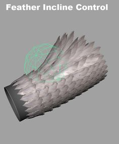 NakyoungKim_Character TD: Bird Rigging/ Feather script (maya, mel script)