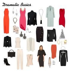 """""""Dramatic Basic Wardrobe"""" by ithinklikeme on Polyvore featuring Topshop, Elizabeth and James, Maison Margiela, AQ/AQ, Giuseppe Zanotti, Sophia Webster, STELLA McCARTNEY, Torn by Ronny Kobo, Exclusive for Intermix and Helmut Lang"""