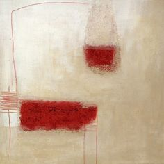 """dailyartjournal: Hilde Wilms, """"i1"""", techniques mixtes"""