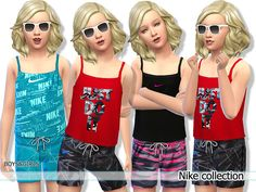 The Sims Resource: Nike Athletic Collection by Pinkzombiecupcakes • Sims 4 Downloads